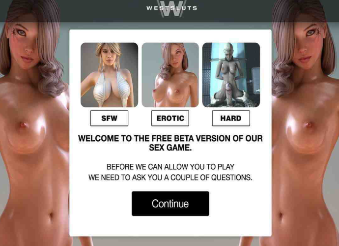 West Sluts – XXX Game Site