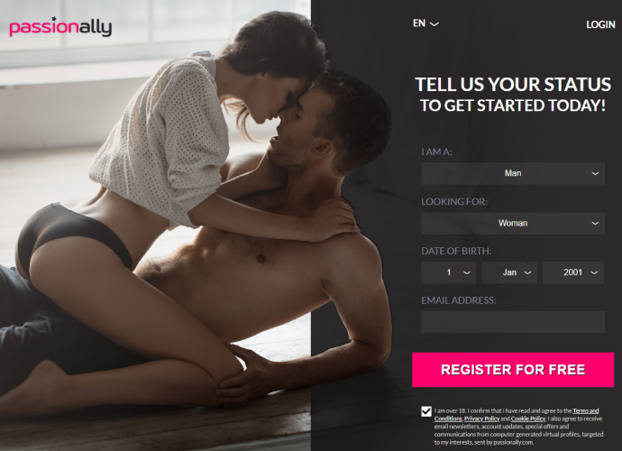 Passion Ally – Adult Dating & Hookups