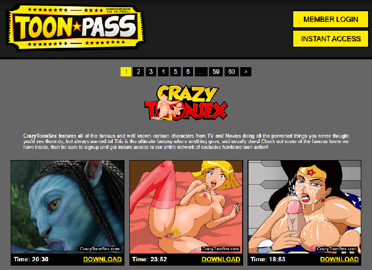 Toon Pass – Animated Porn Network